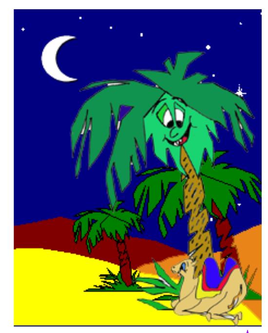 cuento dromi el camellito de Melchor - habla con la palmera