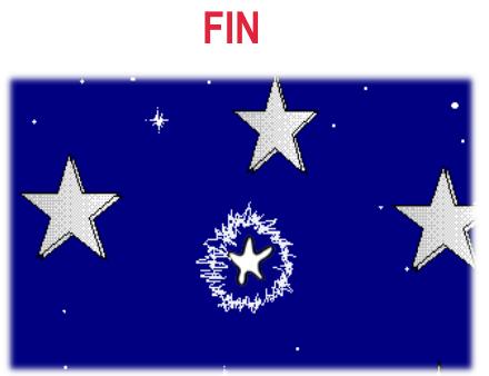 cuento: Rufi, una estrella de mar diferente - Rufi en el cielo