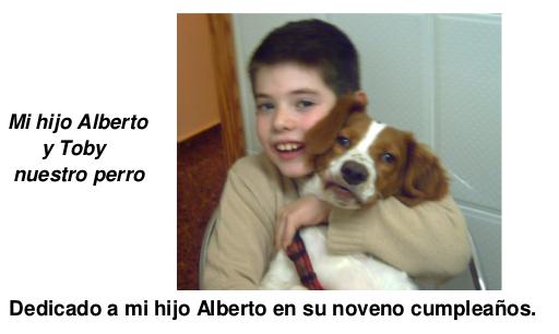 cuento toby - con Alberto hijo de Antonio M. Lorente