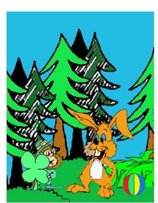 cuento; Jito, el conejito y el gigante - quiere al gnomo como amigo