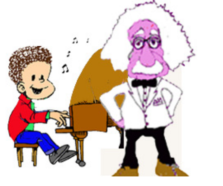Cuento Alberto en el país de la música - en el exámen