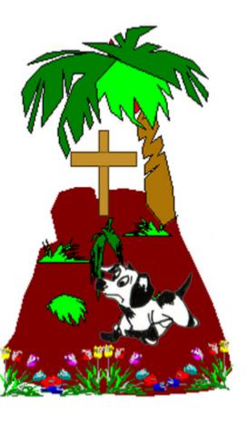 Cuento: El rabo del perro San Roque - el perro en la tumba