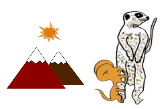 cuento: Bruno, el ratón astuto - con la mangosta