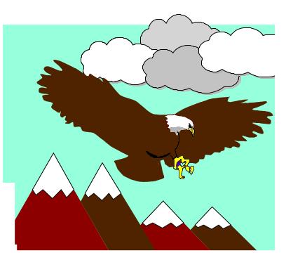 cuento: Bruno, el ratón astuto - el águila acecha
